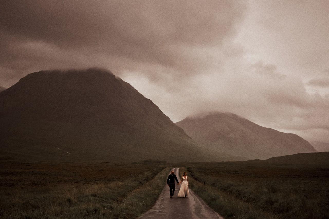 Elopement Scotland Glen Etive