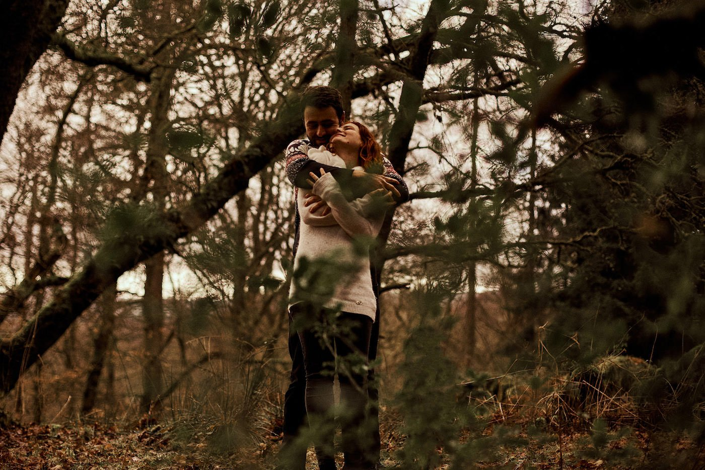 engagement shoot aberfoyle scotland