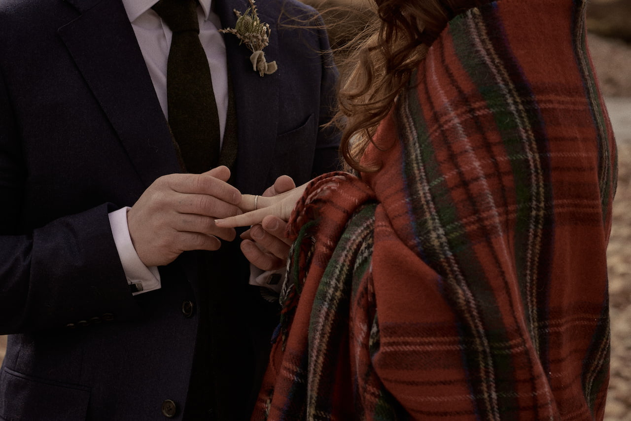 glencoe wedding ceremony