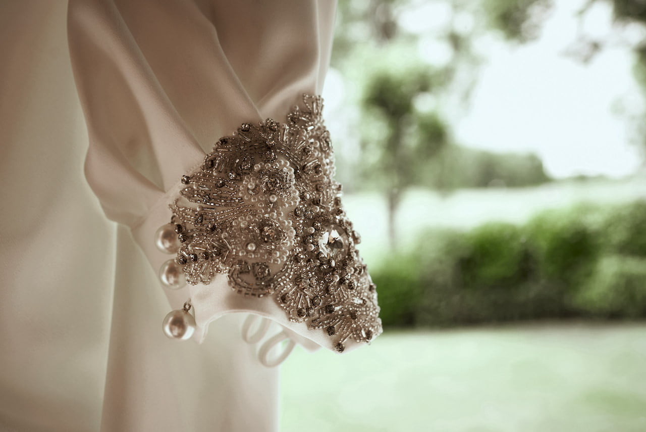 Wedding Dress Detail Photography