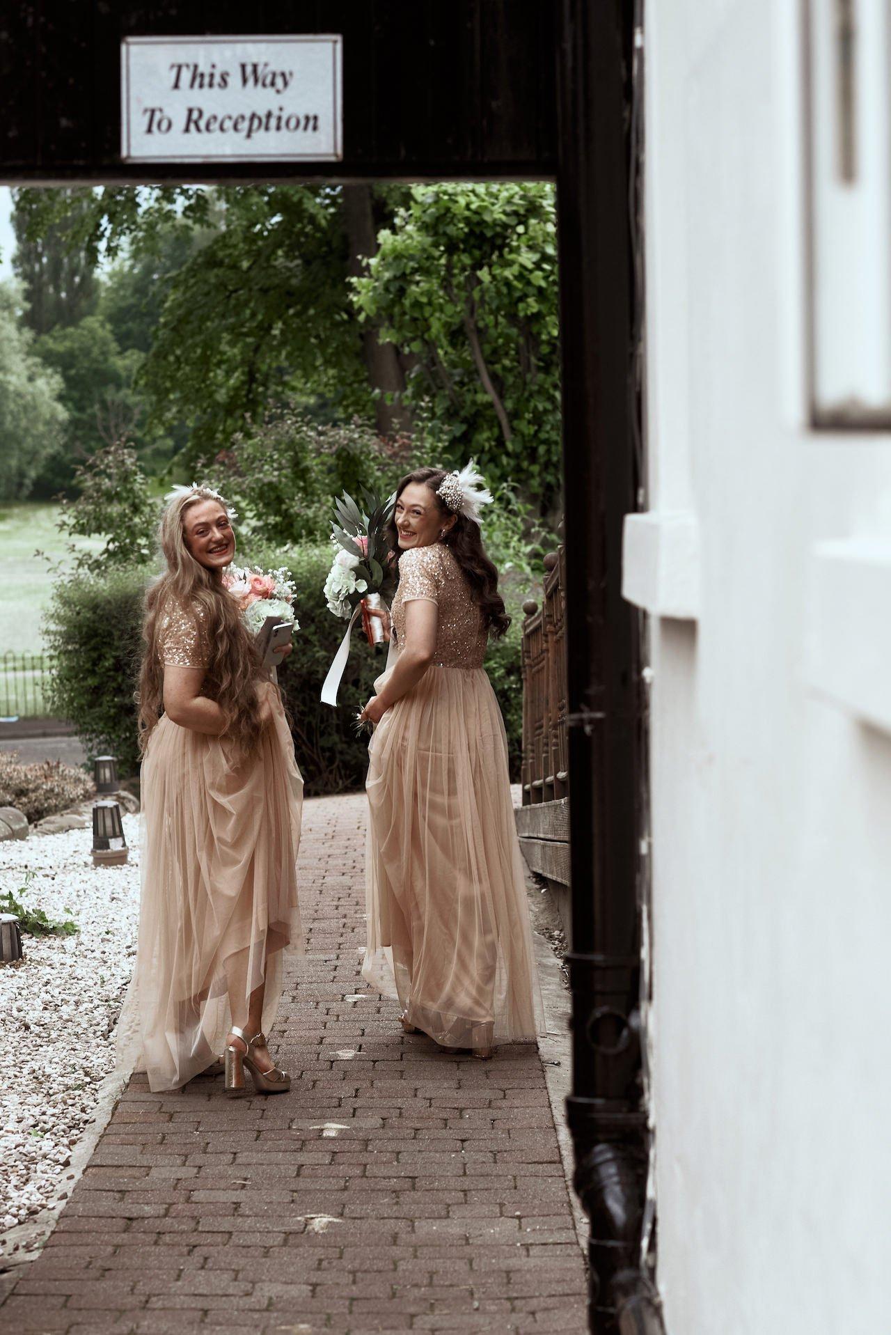 Glasgow Wedding Bridesmaid